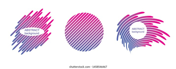 Abstract backgrounds, trendy geometric patterns, vector modern design textures for banner, card, sign, symbol, icon.