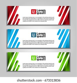 abstract banner website background template.