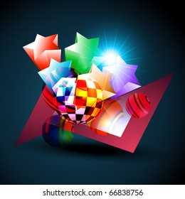 abstract beautiful background design illustration