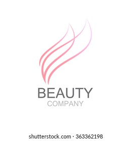 Abstract beauty industry and fashion logo,Identity for beauty, ecological cosmetics business,companies and clinics