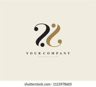 Abstract Beauty Letter SS Logo