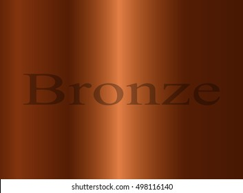 abstract beige background, Bronze background for presentations, inscription Bronze