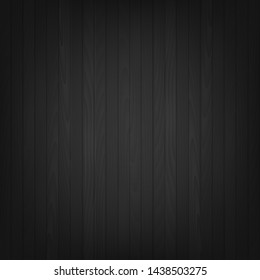 Abstract black background with black corners. Vector.