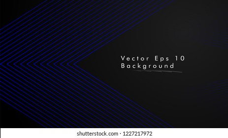 abstract black background with diagonal lines, blue color