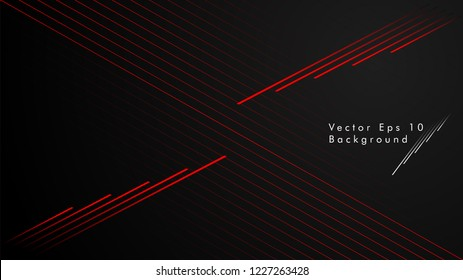 abstract black background with diagonal lines, color red