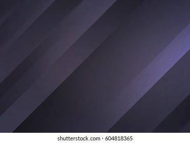 Abstract Black Background with Stripes. Vector Minimal Banner. Dark Tech Sleek Texture.