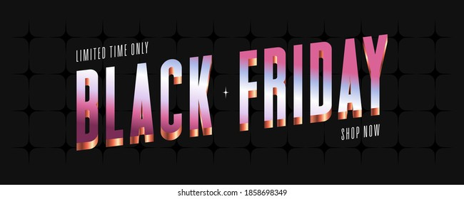 Abstract black Friday sale banner background. Template design, list, page, brochure, layout, cover, print, flyer, book, blank, poster. Vector illustration