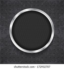 abstract black grille