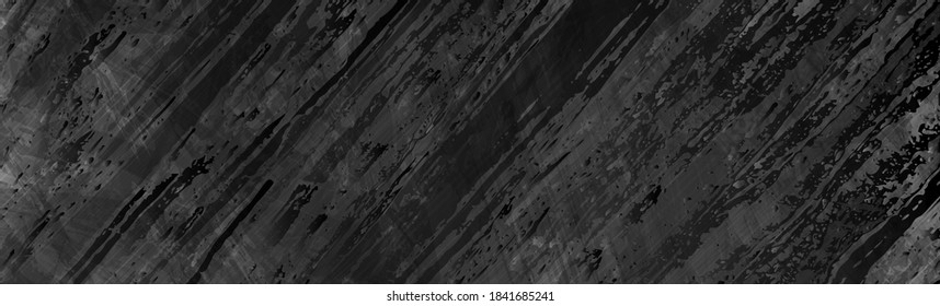 Abstract black grunge marble texture background. Vector banner design