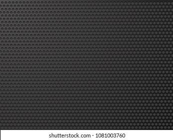 abstract black metalic texture
