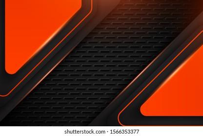 abstract black orange texture metal 260nw 1566353377