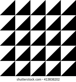 Abstract Black Pattern in Vector