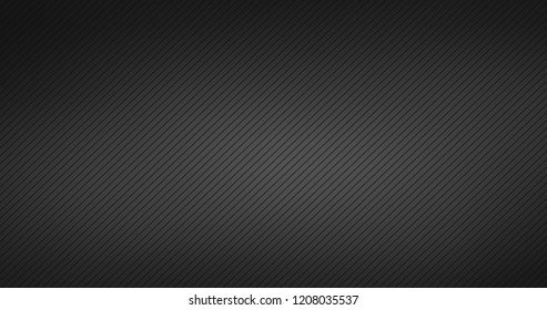 Abstract black striped background, modern design, can be used for apps or presentations. vector illustration.