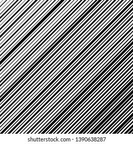 Abstract black stripes with random width on white background for prints, posters and banners