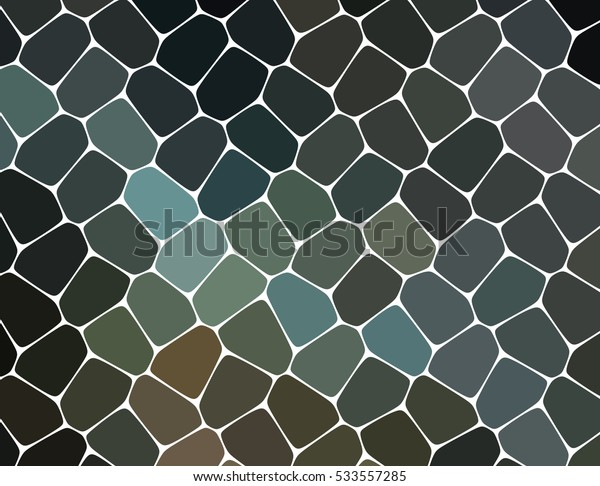 abstract black texture facing mosaic pattern or tiles
