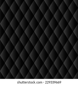 abstract black upholstery background for design vector eps 10