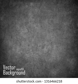abstract black vector wall, vintage grunge background texture design