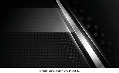 abstract black wallpaper with silver lines