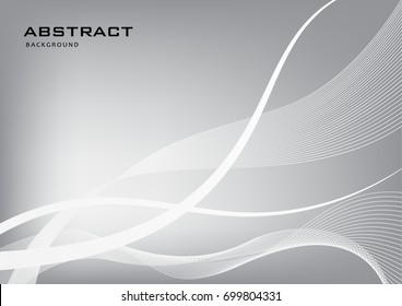 Abstract black and white background.