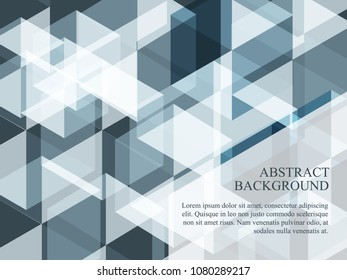 Abstract black and white background image. Endless black and white background in squares modern pattern. Minimal flat design of black and white and gray in many layers background image.