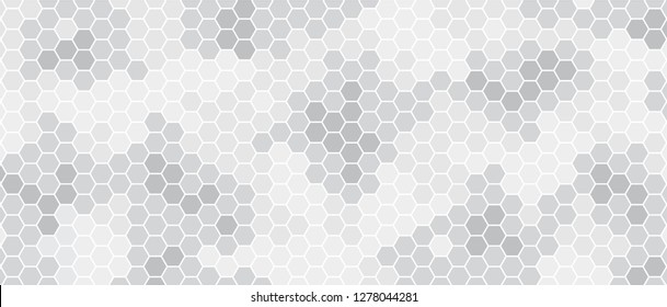 Abstract black white beehive raster background plate. Honeycomb cells pattern. Funny bee honey shapes vector icons for banner or wallpaper. Texture football soccer hexagon signs.
