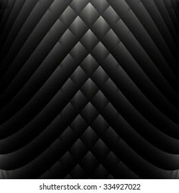 abstract black and white vector geometric background