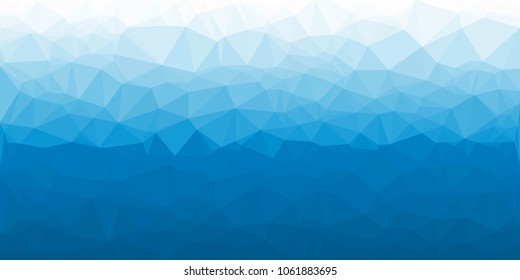 Abstract blu polygonal vector background