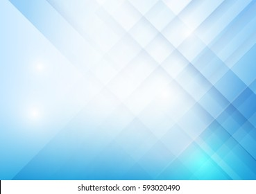 Abstract blue background with basic geometry overlaps and layered element vector eps 10