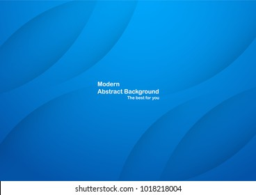 Abstract blue background with copy space for text. Modern template design for cover, brochure, web banner and magazine.