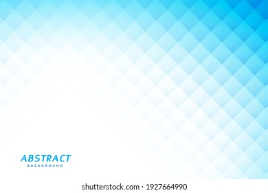 abstract blue background with diamond shapes, Can be used as background, backdrop, image montage in graphic design, book cover, flyer, brochure, advertising material, etc.