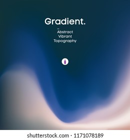 Abstract blue background fluid minimal liquid design. Trendy color wallpaper. EPS 10 gradient background Vector illustration. Sea sand and wave,ocean depth design.