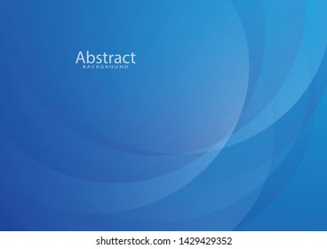 Abstract blue background, vector design, white light wave