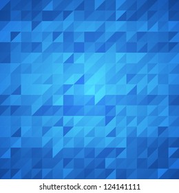 Abstract blue background. Vector image