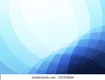 Abstract blue background. wave concept.