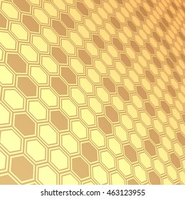 Abstract  blue background,hexagon background