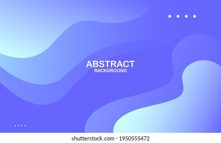 Abstract blue color background. Dynamic shapes composition. Vector illustration