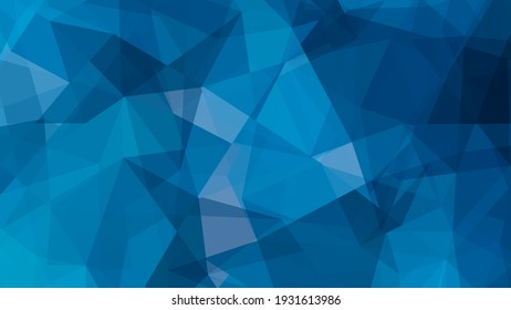 Abstract blue geometrical background. Design template for brochures, flyers, magazine