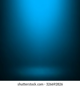 Abstract blue gradient. Used as background for product display.