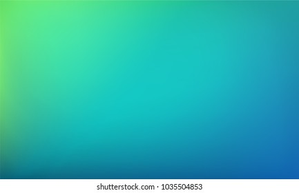 Abstract blue and green background. Nature gradient backdrop. Vector illustration. Ecology concept for your graphic design, banner or poster.