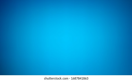 Abstract Blue light blurred background. For Web and Mobile Applications, business infographic and social media, modern decoration, art illustration template design.