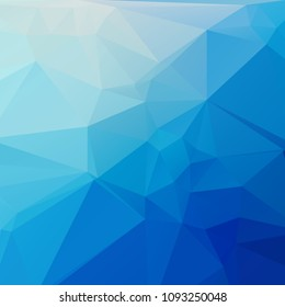 Abstract blue polygon texture background