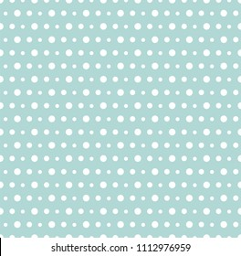 Abstract Blue Seamless Pattern With Points Geometric Modern Background