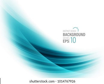 Abstract Blue, Teal ,Technology Background Design  Vector Illustration