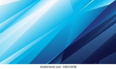 Abstract blue vector background for use in design