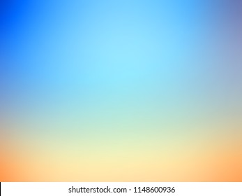 abstract blue and vibrant orange background