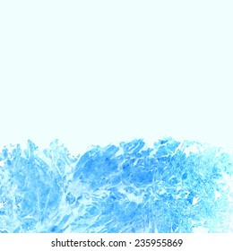 Abstract blue watercolor texture like a marble. Vector eps8