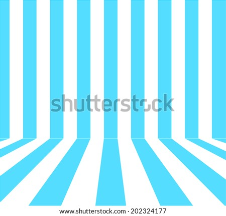 Abstract Blue White Color Stripe Background Stock