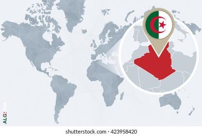Algeria Map Images Stock Photos Vectors Shutterstock