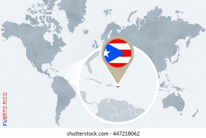 Puerto Rico World Map Images, Stock Photos & Vectors ...