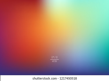 abstract blur background - colorful blurry background, vector